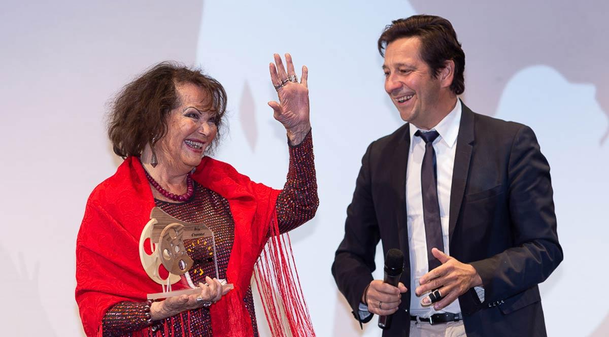 Claudia Cardinale, prix d'honneur pour l'oeuvre de toute une vie